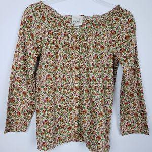 PEEK brand girls floral blouse. So Pretty!